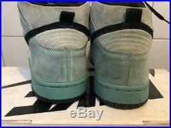 04 Nike Dunk Hi Pro Sb Ice Sea Crystal Us9