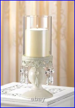 12 Victorian Hurricane Candle Lantern Wedding Table Centerpieces Decoration New