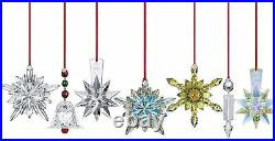$160 Baccarat Crystal 2013 Fleur De Lys Blue Ornament NEW IN BOX 2804707 pendant