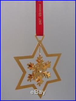 1987 Georg Jensen Christmas Decoration Mobile Snow Crystal