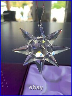 1991 Annual Swarovski Crystal Christmas Ornament