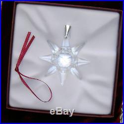 1991 Swarovski Crystal Annual Christmas Star Ornament
