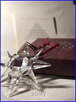 1991 Swarovski Holiday Crystal Ornament, US Version Annual Edition, in box RARE