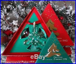 Swarovski Christmas Ornament 1991