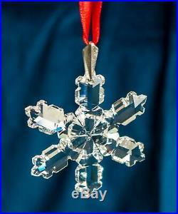 1992 Swarovski 2nd Annual Christmas Ornament Crystal Rare No Box READ AD