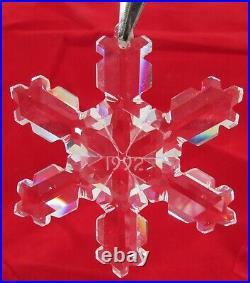 1992 Swarovski Christmas Crystal Ornament, Limited Edition, 9445 NR 092 002