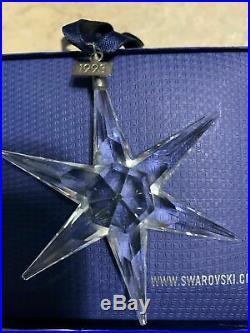 1993 Swarovski 3nd Annual Christmas Ornament Crystal Snowflake, Rare No Box