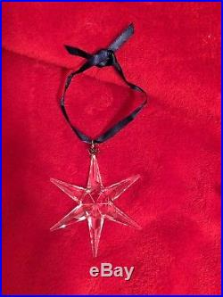 1993 Swarovski Crystal Christmas Snowflake Star Ornament Free Priority Shipping