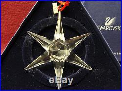 1993 Swarovski Crystal Holiday Christmas Snowflake Ornament with Box