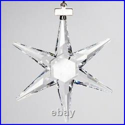 1993 Swarovski Crystal Holiday Christmas Star Snowflake Ornament in Box