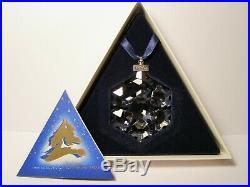 1994 Swarovski Crystal Annual Snowflake Christmas Ornament Retired with Box & COA