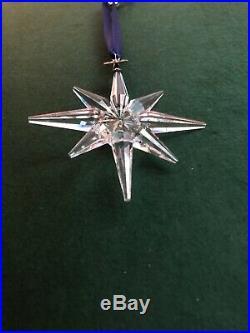 1995 Limited Edition Swarovski Crystal Snowflake Christmas Tree Ornament No Box
