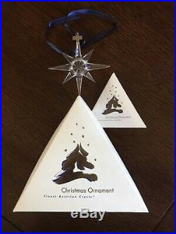 1995 Swarovski Annual Crystal Christmas Ornament Boxed but No Certificate