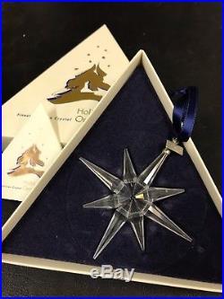 1995 Swarovski Crystal Annual Christmas Ornament