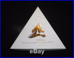 1995 Swarovski Crystal Ltd Annual Edition Snowflake Christmas Holiday Ornament
