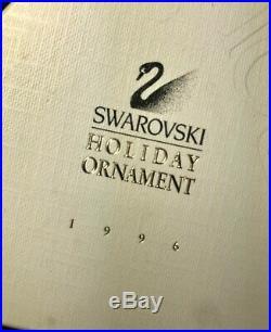1996 Annual Swarovski Crystal Christmas Ornament Snowflake