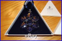 1996 Swarovski Annual Christmas Ornament Crystal Star/snowflake