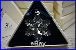 1996 Swarovski Christmas Ornament #199734 Retired
