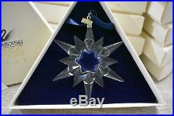 1997 Swarovski Christmas Ornament #211987 Retired