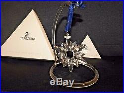 1998 Limited Edition Swarovski Crystal Snowflake Christmas Tree Ornament in Box