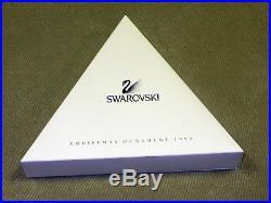 1998 Swarovski Crystal Annual Christmas Ornament Star/snowflake