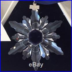1998 Swarovski Crystal Annual Limited Edition Christmas Ornament Star/Snowflake