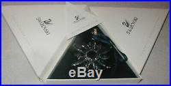1998 Swarovski Crystal Christmas Ornament Star Mint In Box Austrian