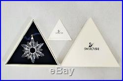 1998 Swarovski Crystal Christmas Star Snowflake Ornament