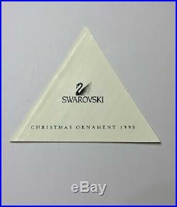 1998 Swarovski Crystal Christmas/holiday Snowflake Ornament Limited Edition