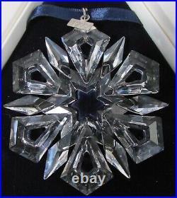 1999 Swarovski Christmas Crystal Ornament, Annual Edition, 9445 NR 990 001