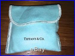 2 Tiffany & Co. Crystal Christmas Ornament TRAIN & BEAR Ornaments withPouch