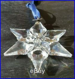 2000 Limited Edition Swarovski Crystal Snowflake Christmas Tree Ornament No Box
