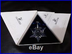 2000 SWAROVSKI CRYSTAL ANNUAL CHRISTMAS ORNAMENT STAR SNOWFLAKE with box & COA