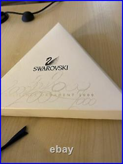 2000 Swarovski Christmas Crystal Ornament Annual Edition 9445 Nr 200001