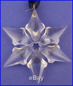 2000 Swarovski Crystal Annual Snowflake Christmas Ornament No Box