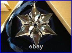 2000 Swarovski Crystal Christmas Annual Ornament Large