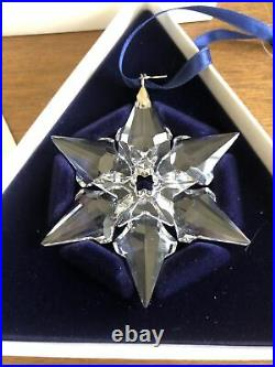 2000 Swarovski Crystal Christmas Snowflake Ornament