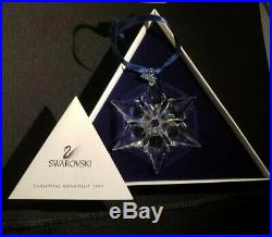 2000 Swarovski Crystal Christmas Star Ornament New in Box with Certificate