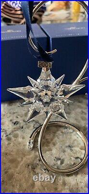 2001 Swarovski Crystal Christmas Ornament Star Snowflake