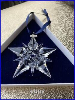 2001 Swarovski Snowflake Christmas Ornament. Swarovski Crystal
