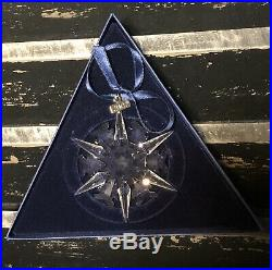 2002 SWAROVSKI Crystal Annual LIMITED EDITION Snowflake Christmas Ornament