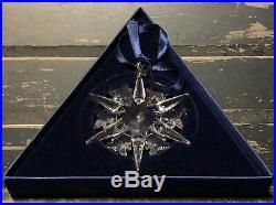 2002 SWAROVSKI Crystal Annual LIMITED EDITION Snowflake Christmas Ornament