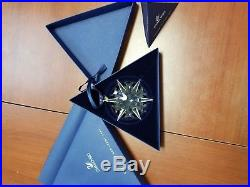 2002 Swarovski Crystal Annual Limited Edition Christmas Ornament/Snowflake