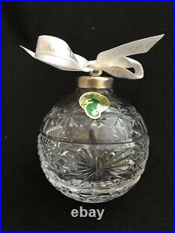 2003 Waterford Crystal Times Square Hope For Courage Ball Christmas Ornament