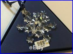 2004 Annual Swarovski Crystal Christmas Ornament 8 point Star