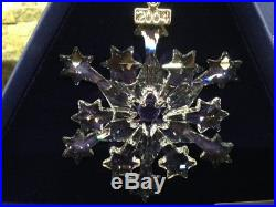 2004 NEW Swarovski Crystal (Rockefeller) Christmas Ornament with certificate