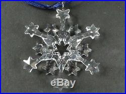 2004 SWAROVSKI Christmas CRYSTAL Ornament with Original box