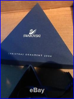 2004 Swarovski Crystal Annual Limited Edition Christmas Ornament/Snowflake