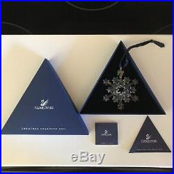 2004 Swarovski Crystal Christmas Ornament Brand New in Box with Certificates