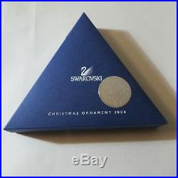 2004 Swarovski Crystal Christmas Ornament Star Snowflake